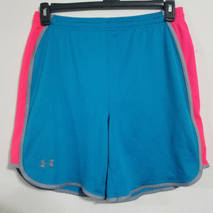 Under Armour Girls Medium Athletic Running Shorts